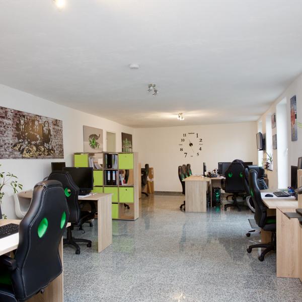Arbeitsplatz bei Coworking Aachen